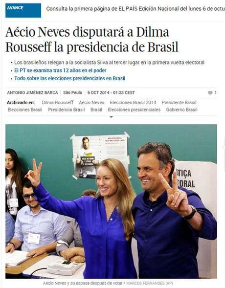 Imprensa internacional destaca vitória de Dilma no 1° turno