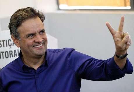 <p>O candidato presidencial Aecio Neves (PSDB) teve638 mil menções no Twitter</p>
