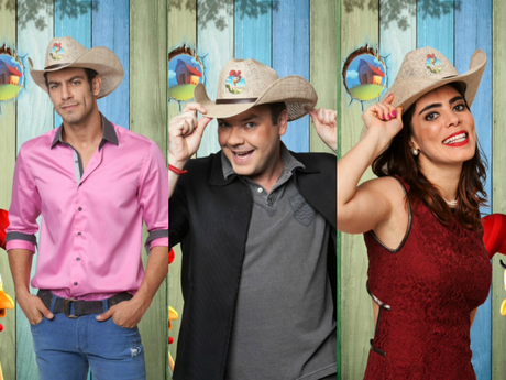 Diego, Felipeh e Heloísa estão na Roça