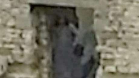 Suposto fantasma foi fotografado no castelo