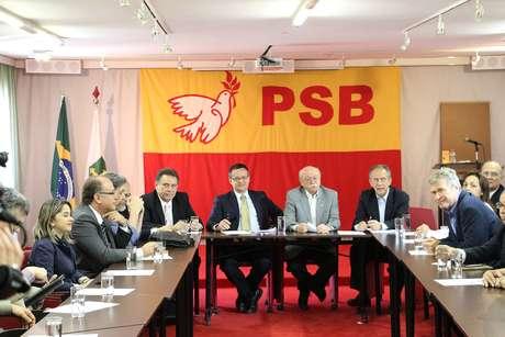 <p>Líderes da coligação que teve Marina como candidata se reuniramem Brasília, nesta quinta-feira, 9 de outubro</p>