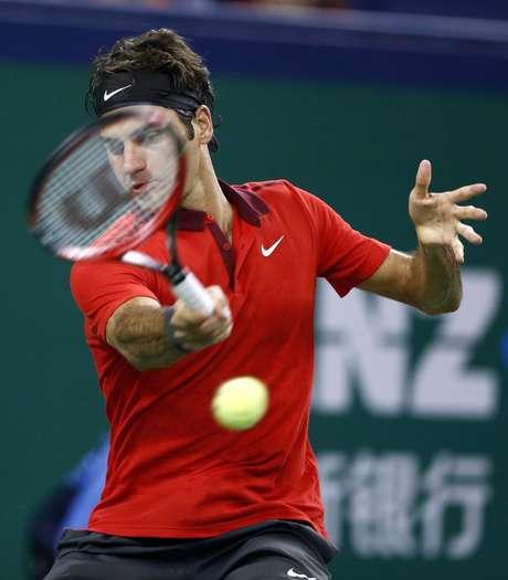 Federer dominou toda a partida