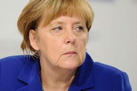 <p>A p&aacute;gina da chanceler&nbsp;Angela Merkel foi uma das v&iacute;timas do ataque virtual</p>