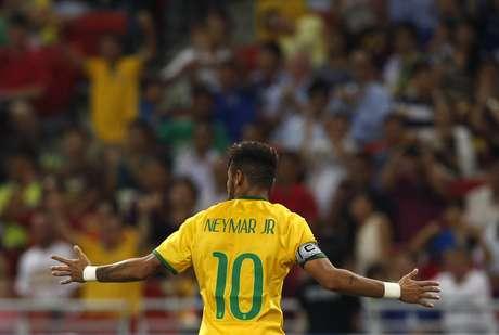 <p>Camisa 10 e capitão, Neymar chegou a 40 gols pela Seleção e ultrapassou Bebeto</p>