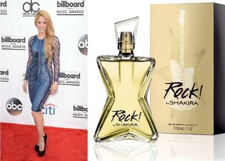 Nova fragrância ROCK by Shakira