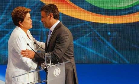 <p>Dilma Rousseff (PT) e Aécio Neves (PSDB) concorrem à Presidência da República</p>