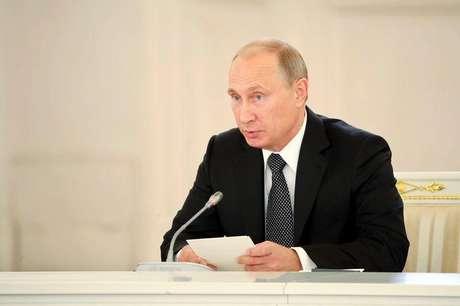 <p>O líder russo afirmou nesta sexta-feira que nunca houve acordo de paz,após a Guerra Fria</p>