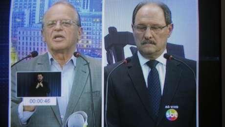 Tarso Genro, candidato à reeleição ao governo gaúcho
