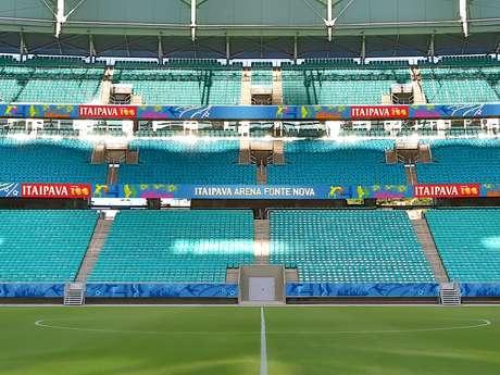 Arena Fonte Nova segue recebendo partidas do Bahia