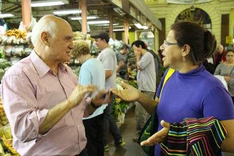 Conhecido como jornalista do Grupo RBS há mais de 27 anos, Lasier Martins teve fácil aproximação com o público