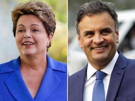 <p>Em pesquisa anterior, Dilma aparecia &agrave; frente de A&eacute;cio, fora da margem de erro</p>