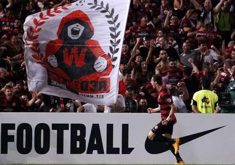 Wanderers saiu na frente da final com um gol de Juric