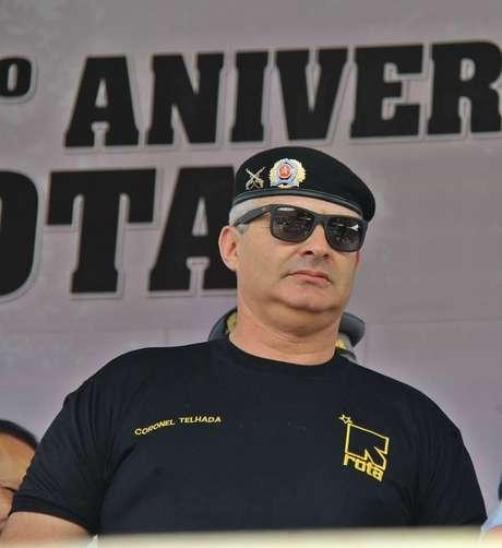 <p>Coronel Telhada defendeu a separação de São Paulo do Brasil</p>