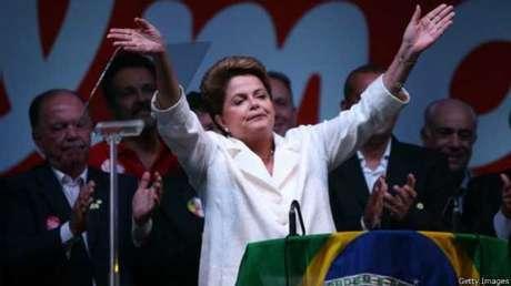 <p>Dilma venceu por margem estreita Aécio Neves, após campanha com troca de acusações</p><p></p>