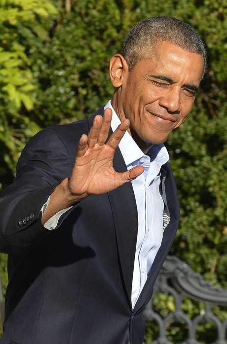 <p>Presidente dos EUA, Barack Obama, na Casa Branca, em Washington, em 19 de outubro</p>