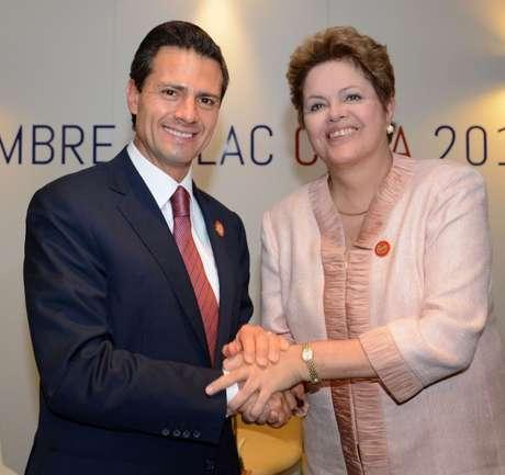 <p>O México do presidenteEnrique Peña Nieto,embarcouem reformas mais ambiciosas para abrir suas economias, e está crescendo a um ritmo mais de duas vezes acima do Brasil.</p>