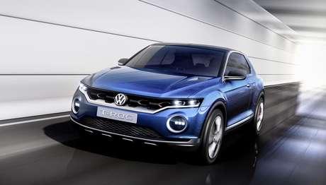 Carro-conceito T-ROC  apresenta uma visão de uma possível nova linha de SUVs