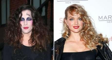 Liv Tyler e Lindsay Ellingson apostaram em cabelos com textura e volume para o Halloween