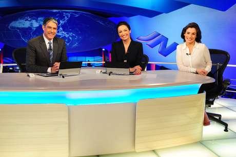 Na segunda-feira, Renata Vasconcellos assumirá posto de Patrícia Poeta no 'Jornal Nacional'