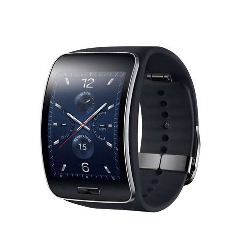 Gear S, terceira geração do relógio inteligente da Samsung, chega ao Brasil nas cores preto e branco, por R$ 1.499
