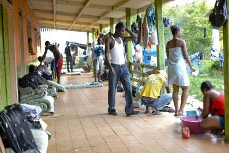 Haitianos normalmente entram no Brasil pelo Acre