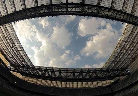 <p>Arena da Baixada foi reformada para a Copa do Mundo</p>