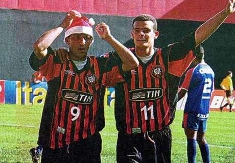 <p>Com a marca, Atlético-PR conquistou seu título de maior expressão: o Brasileirão de 2001</p>