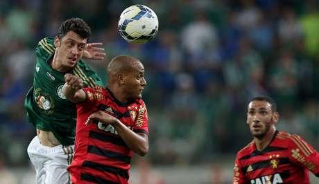 <p>Palmeiras levou dois gols no fim da partida</p>