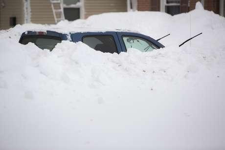 As precipitações que caíram em apenas dois dias equivalem à quantidade de neve registrada em um ano inteiro
