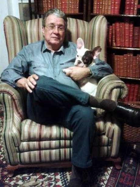 <p>Ex-diplomata e escritor gaúcho, Fernando Cacciore de Garcia</p>