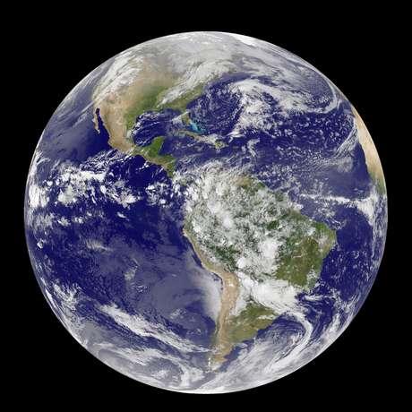 Vista do Planeta Terra em foto divulgada pela Nasa