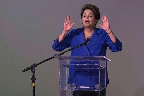 Presidente Dilma Rousseff em Brasília. 20/11/2014.