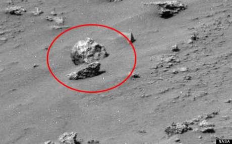 Suposto crânio humano aparece em foto da Nasa em Marte