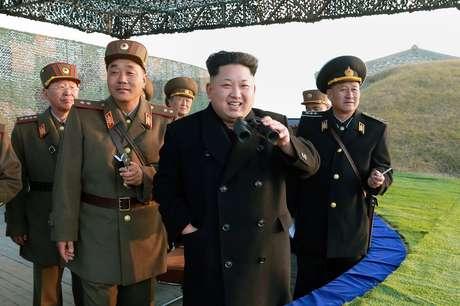 O líder da Coreia do Norte incentivou o ódio contra os Estados Unidos durante discurso