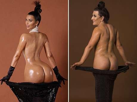 <p>Tiffany Davies é fã de Kardashian desde a adolescência</p>