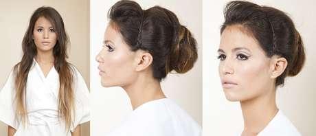 <p>Coque primaveril ajuda a criar volume em cabelo liso</p>