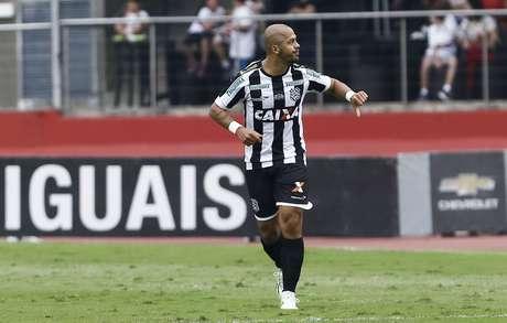 <p>Formado no São Paulo, Mazola foi o algoz da festa de Kaká</p>
