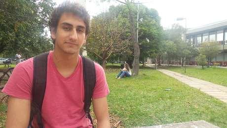 Candidato a uma vaga no curso de engenharia civil, Victor Chafick Miguel, 18 anos, considerou a prova de matemática complicada