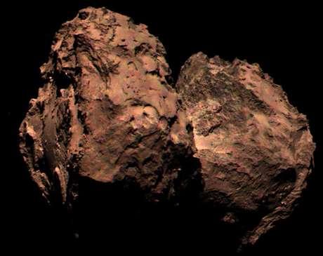 <p>Primeira imagem colorida de cometa foi revelada</p>