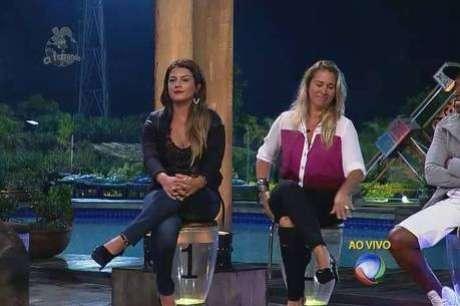 Babi Rossi e Andréia Sorvetão estão na Roça