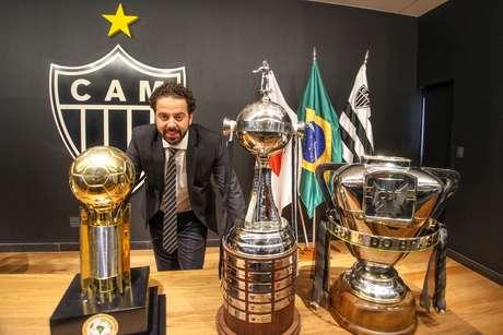 <p>Daniel foi confirmado como novo presidente do Atlético-MG</p>