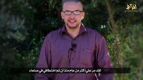 O refém norte-americano está em mãos do Al-Qaeda