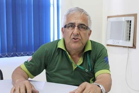 Nairo Delfim, presidente da CDL de Charqueadas
