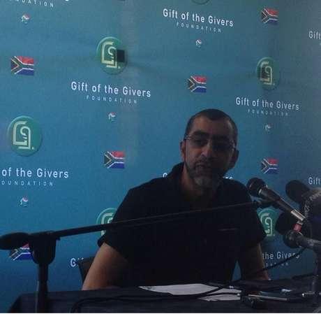 O presidente da ONG estava negociando a libertação do sul-africano há um ano