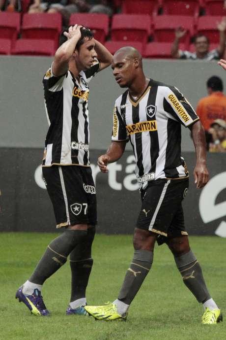 Botafogo foi rebaixado antecipadamente para a Série B de 2015