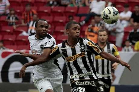 <p>Botafogo e Atl&eacute;tico-MG se despediram com empate em duelo que n&atilde;o valia nada</p>