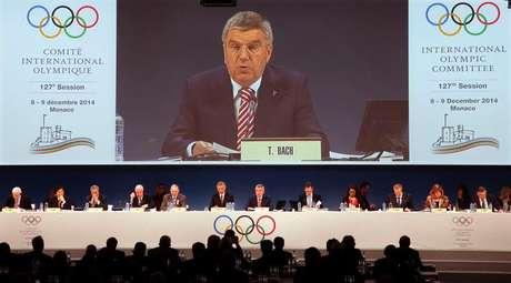 <p>Presidente do COI, Thomas Bach, anuncia que gastos com Olímpiadas devem ser menores</p>