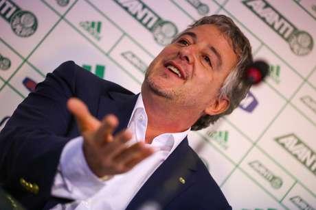 """<p>Paulo Nobre disse que o acordo de patrocínio com a Crefisa """"é o maiorda história do Palmeiras""""</p>"""