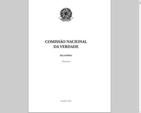 Relatório elaborado pela Comissão Nacional da Verdade