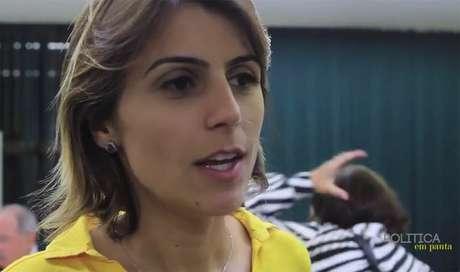 <p>Deputada federal Manuela D'Ávila</p>